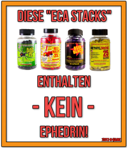 ECA Stack ohne Ephedrin